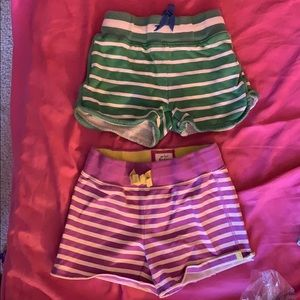 Mini Boden retro shorts sz 6